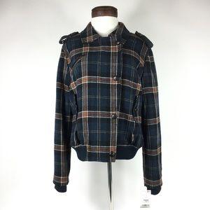 MNG by MANGO Heavy Plaid Coat